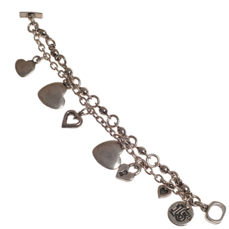 Ciclon 15th Birthday Heart Bracelet|UK stockist