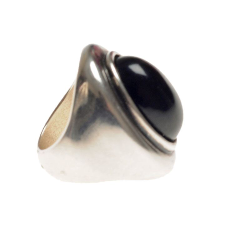 Ciclon Ring with black resin feature|UK stockist