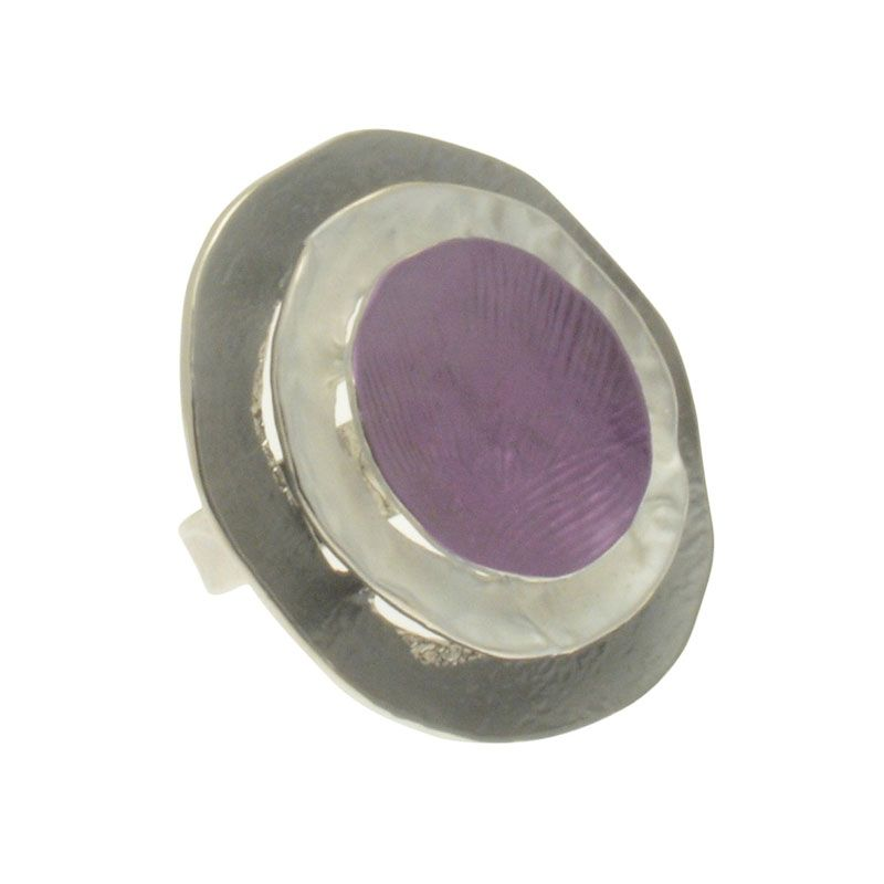 Miss Milly Purple Disc Ring
